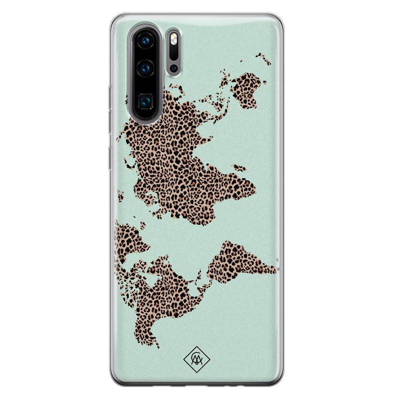Casimoda Huawei P30 Pro siliconen hoesje - Wild world