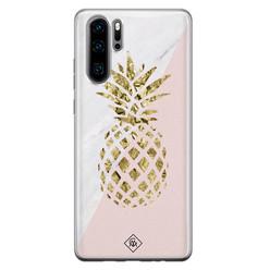 Casimoda Huawei P30 Pro siliconen hoesje - Ananas