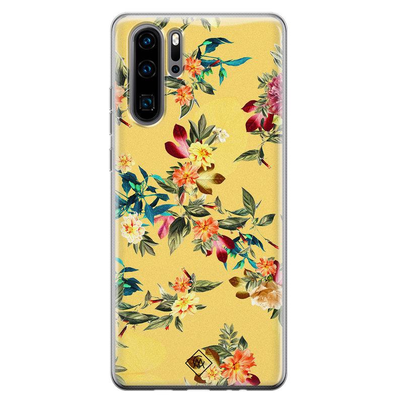Casimoda Huawei P30 Pro siliconen hoesje - Floral days