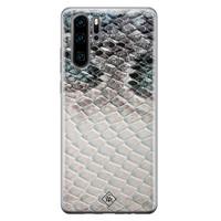 Casimoda Huawei P30 Pro siliconen hoesje - Oh my snake