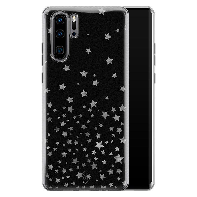 Casimoda Huawei P30 Pro siliconen hoesje - Counting the stars