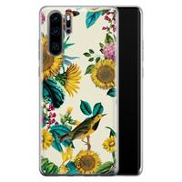 Casimoda Huawei P30 Pro siliconen hoesje - Sunflowers