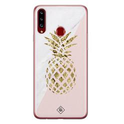 Casimoda Samsung Galaxy A20s siliconen hoesje - Ananas