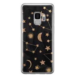 Casimoda Samsung Galaxy S9 siliconen hoesje - Counting the stars