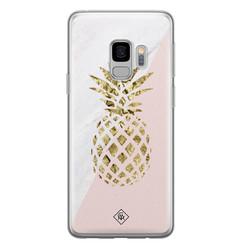 Casimoda Samsung Galaxy S9 siliconen hoesje - Ananas