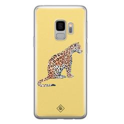 Casimoda Samsung Galaxy S9 siliconen hoesje - Leo wild
