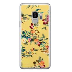Casimoda Samsung Galaxy S9 siliconen hoesje - Floral days