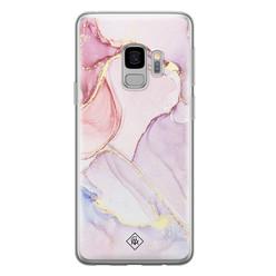 Casimoda Samsung Galaxy S9 siliconen hoesje - Purple sky