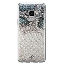 Casimoda Samsung Galaxy S9 siliconen hoesje - Oh my snake