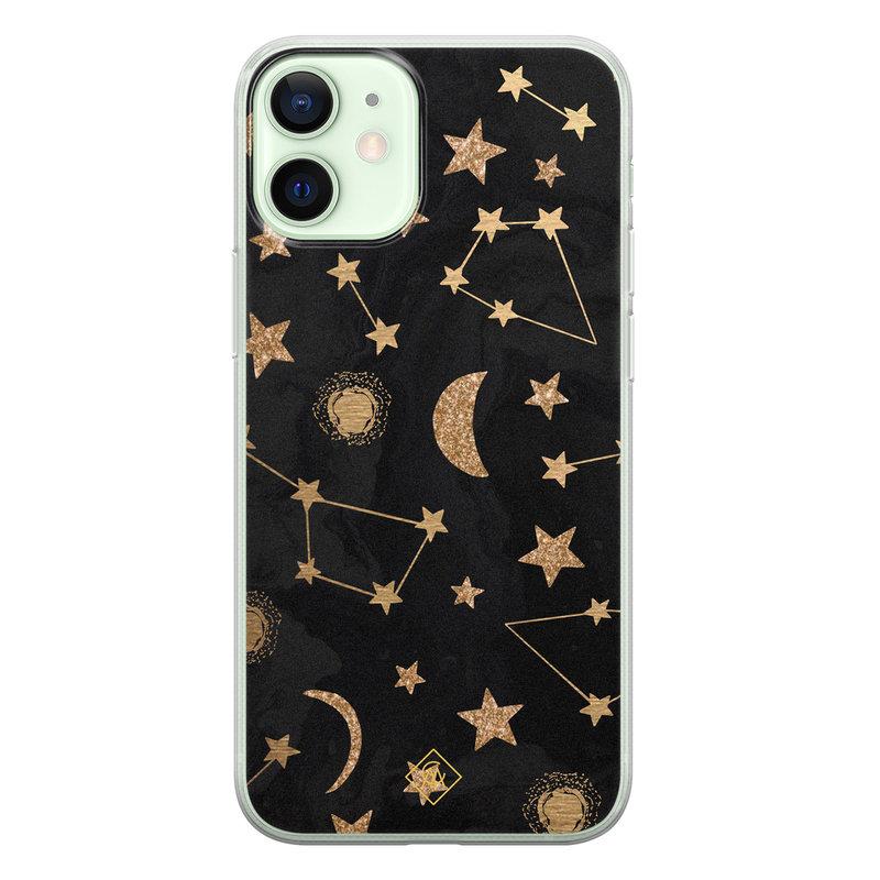 Casimoda iPhone 12 mini siliconen hoesje - Counting the stars