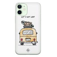 Casimoda iPhone 12 mini siliconen hoesje - Let's get lost