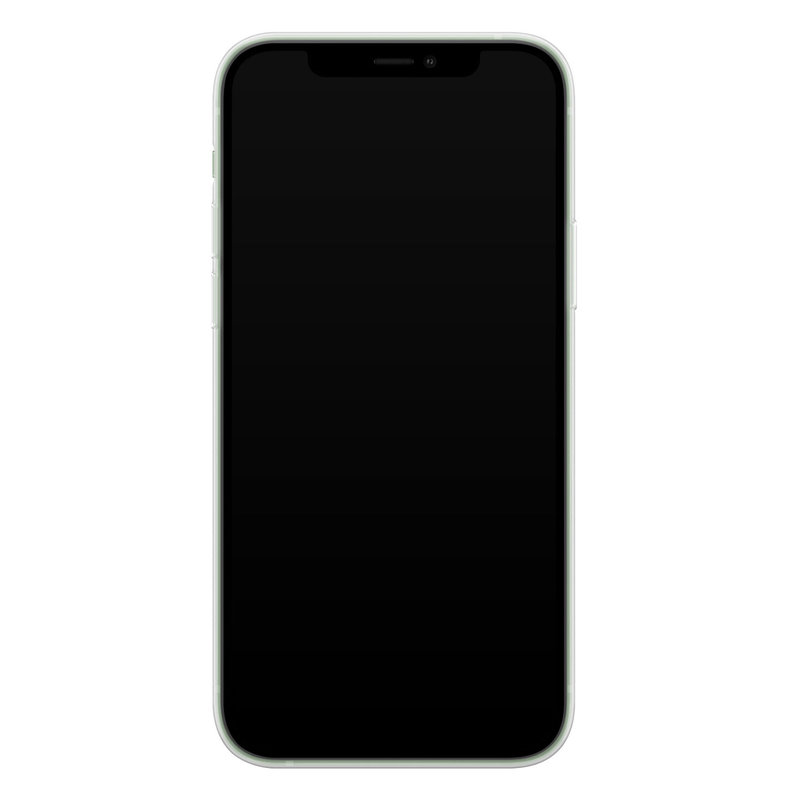 Casimoda iPhone 12 mini siliconen telefoonhoesje - Luipaard grijs
