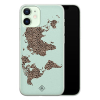 Casimoda iPhone 12 mini siliconen hoesje - Wild world