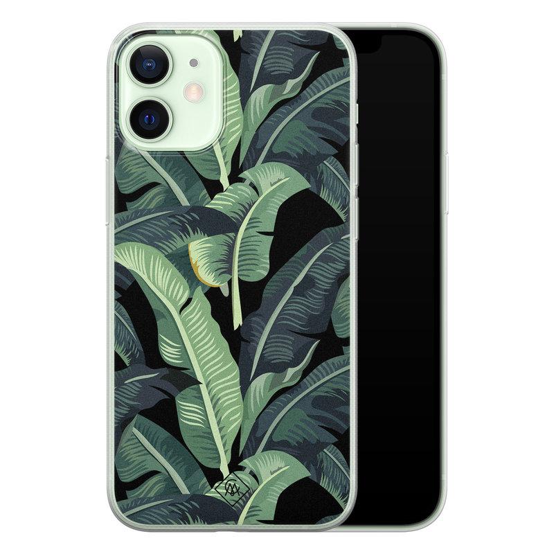 Casimoda iPhone 12 mini siliconen hoesje - Bali vibe