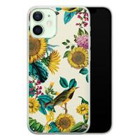 Casimoda iPhone 12 mini siliconen hoesje - Sunflowers