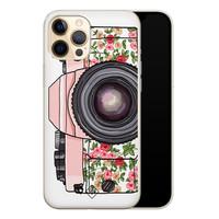 Casimoda iPhone 12 Pro siliconen telefoonhoesje - Hippie camera
