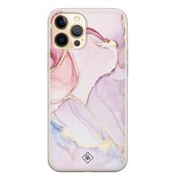 Casimoda iPhone 12 Pro siliconen hoesje - Purple sky