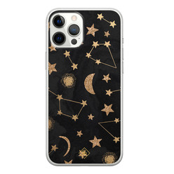 Casimoda iPhone 12 Pro Max siliconen hoesje - Counting the stars