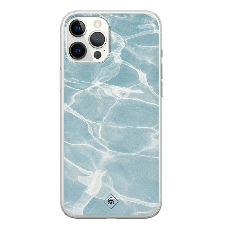 Casimoda iPhone 12 Pro Max siliconen hoesje - Oceaan