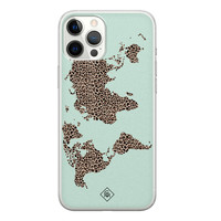 Casimoda iPhone 12 Pro Max siliconen hoesje - Wild world