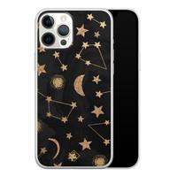 Casimoda iPhone 12 Pro Max siliconen hoesje - Counting the stars