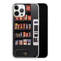 Casimoda iPhone 12 Pro Max siliconen hoesje - Snoepautomaat