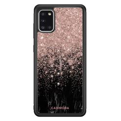 Casimoda Samsung Galaxy A31 hoesje - Marmer twist