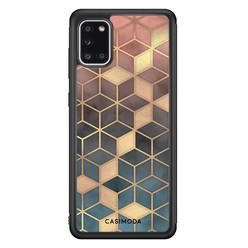 Casimoda Samsung Galaxy A31 hoesje - Cubes art