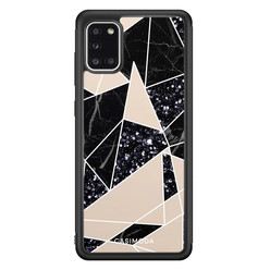 Casimoda Samsung Galaxy A31 hoesje - Abstract painted