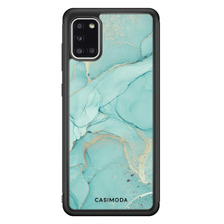 Casimoda Samsung Galaxy A31 hoesje - Touch of mint