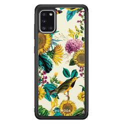 Casimoda Samsung Galaxy A31 hoesje - Sunflowers