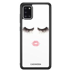 Casimoda Samsung Galaxy A31 hoesje - Kiss wink