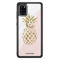 Casimoda Samsung Galaxy A31 hoesje - Ananas