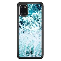 Casimoda Samsung Galaxy A31 hoesje - Oceaan