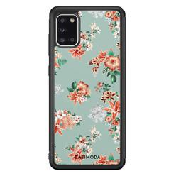 Casimoda Samsung Galaxy A31 hoesje - Lovely flowers