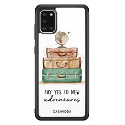 Casimoda Samsung Galaxy A31 hoesje - Wanderlust