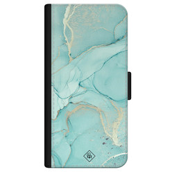 Casimoda iPhone 12 flipcase - Touch of mint