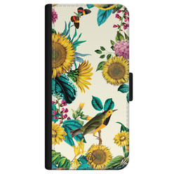 Casimoda iPhone 12 flipcase - Sunflowers