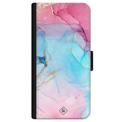 Casimoda iPhone 12 flipcase - Marble colorbomb