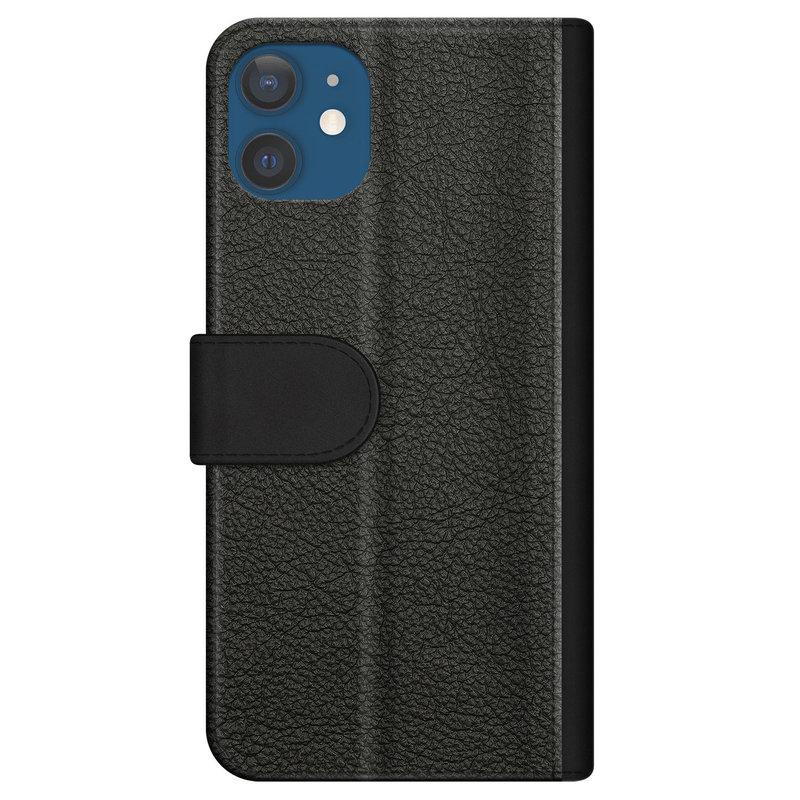 Casimoda iPhone 12 flipcase - Marmer blauw goud