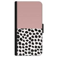 Casimoda iPhone 12 flipcase - Pink dots