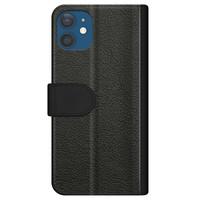 Casimoda iPhone 12 flipcase - Marmer blauw geometrisch