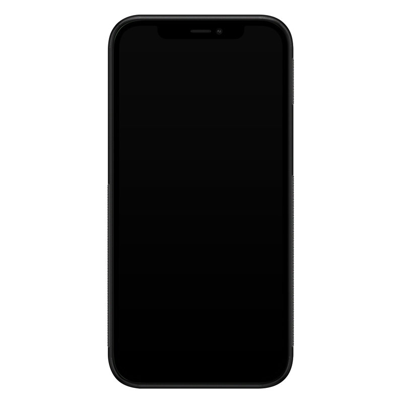 Casimoda iPhone 12 mini glazen hardcase - Parelmoer marmer