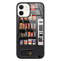 Casimoda iPhone 12 mini glazen hardcase - Snoepautomaat