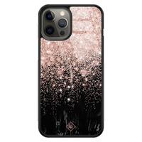 Casimoda iPhone 12 Pro Max glazen hardcase - Marmer twist
