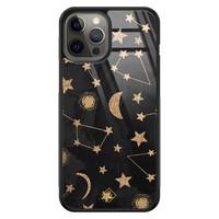 Casimoda iPhone 12 Pro Max glazen hardcase - Counting the stars