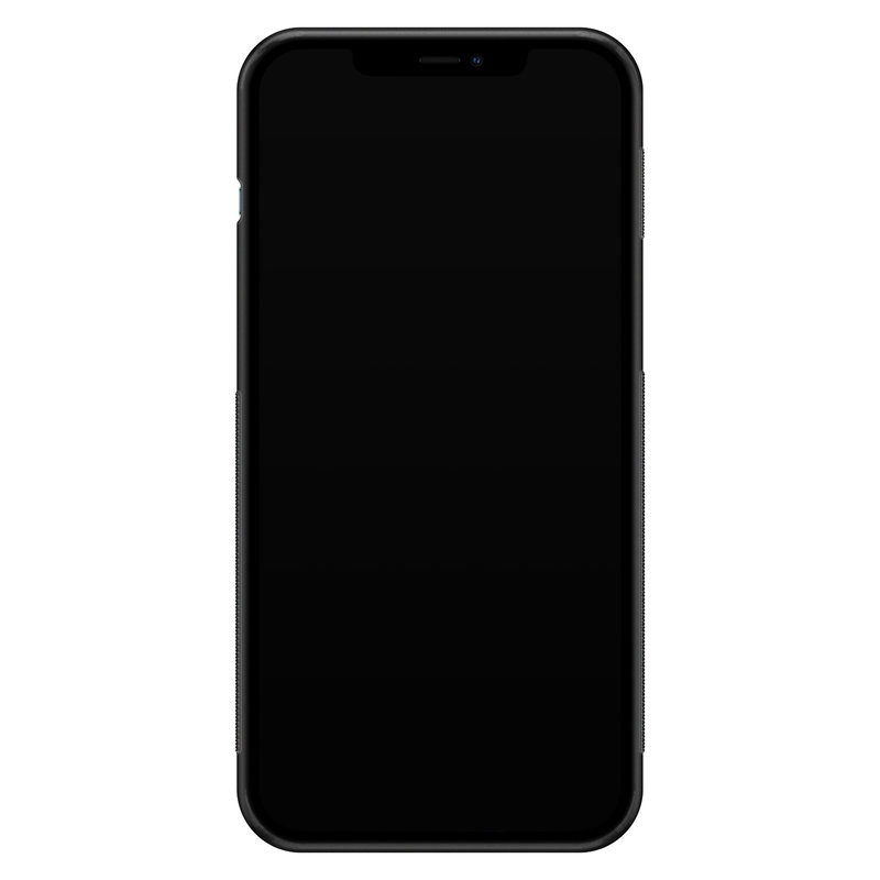 Casimoda iPhone 12 Pro Max glazen hardcase - Bee yourself
