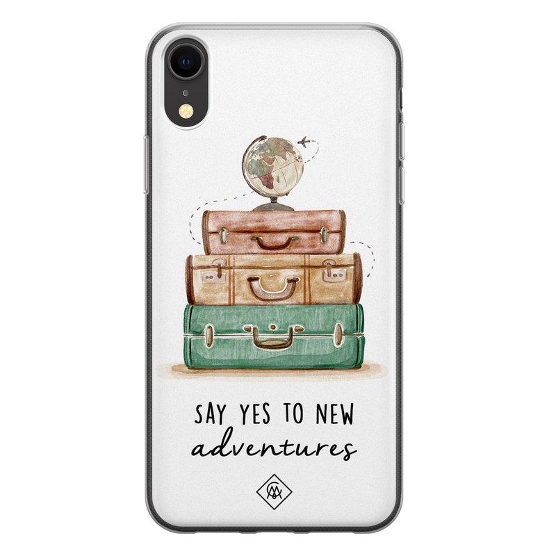 Casimoda iPhone XR siliconen hoesje - Wanderlust