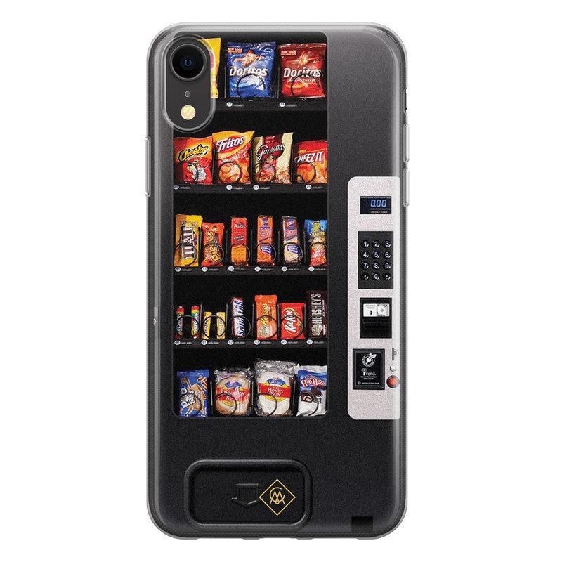 Casimoda iPhone XR siliconen hoesje - Snoepautomaat