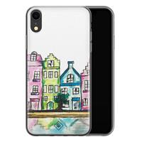 Casimoda iPhone XR siliconen telefoonhoesje - Amsterdam